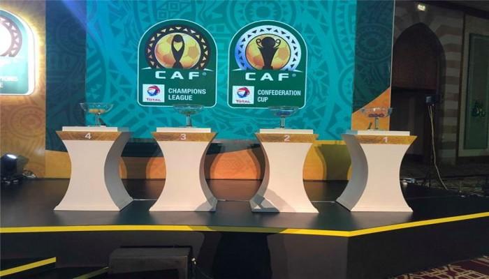 الكاف يعلن موعد قرعة دوري الأبطال والكونفدرالية الأفريقية