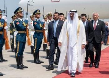 بن زايد يصل إلى الصين بالتزامن مع التوترات في الخليج