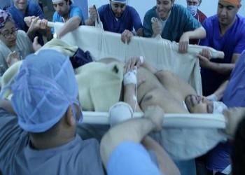 هدم شرفة منزل في مصر لنقل مريض يزن 500 كغم