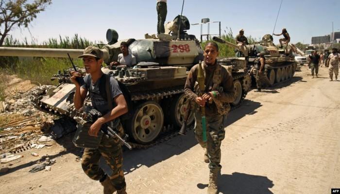 قوات حفتر تعلن بدء الهجوم على طرابلس