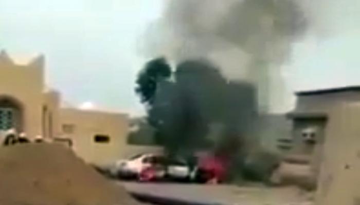 مجهول يشعل النار بسيارة مواطنة سعودية بجازان (فيديو)