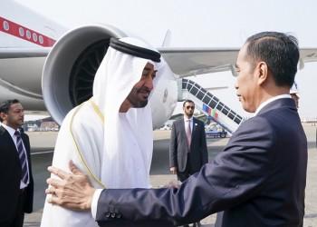 بن زايد يصل إلى إندونيسيا في زيارة رسمية