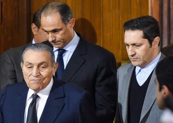 مبارك طلب من نجليه عدم الإدلاء بتصريحات صحفية