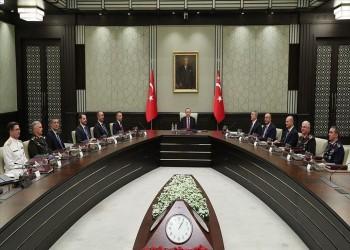انعقاد الشورى العسكري التركي برئاسة أردوغان