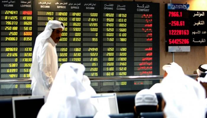 تراجع أسهم الخليج رغم تخفيض أسعار الفائدة
