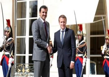 تميم وماكرون يبحثان هاتفيا مستجدات الأزمة الليبية