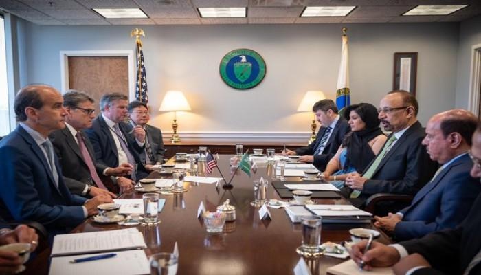 اتفاق سعودي أمريكي على ضرورة ضمان أمن امدادات الطاقة