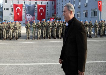 وزير الدفاع التركي: استعداداتنا للمنطقة الآمنة اكتملت