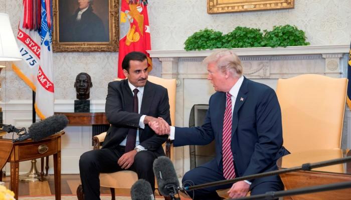قطر هزمت السعودية والإمارات بأمريكا.. والمملكة ترى ترامب خائنا