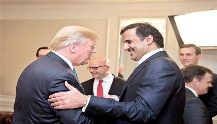 تميم وترامب يبحثان علاقات التعاون الاستراتيجي بين البلدين
