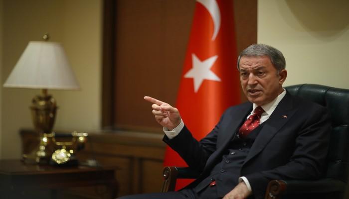 أكار متحدثا عن حقوق قبرص التركية: لا تختبروا قوتنا
