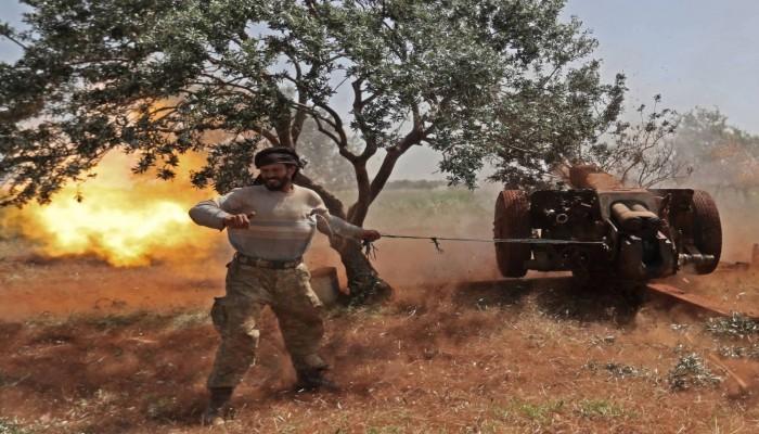 مقتل العشرات من قوات الأسد والمعارضة في اشتباكات بإدلب