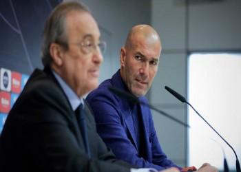 زيدان يعاقب رئيس ريال مدريد على فشل صفقة بوغبا