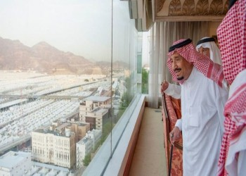 الملك سلمان لضيوف الرحمن: حج مبرور