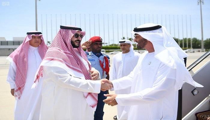 بن زايد يصل إلى السعودية إثر تطورات اليمن