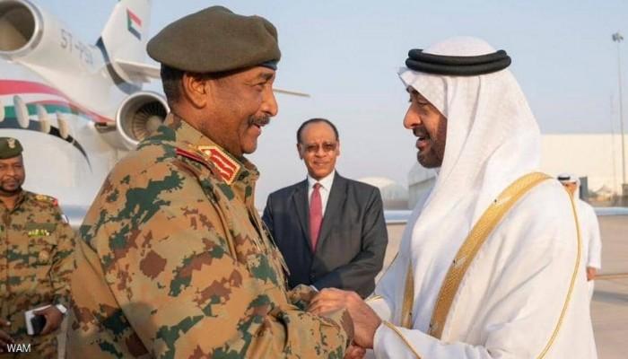 بن زايد يهاتف البرهان بعد سيول السودان