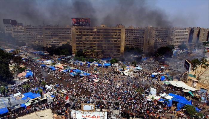 الإخوان تتعهد بملاحقة المسؤولين عن مذبحة رابعة - الخليج الجديد