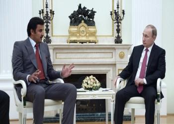 أمير قطر يبحث مع بوتين أمن واستقرار الخليج