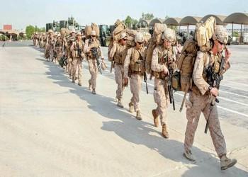 فرقة المارينز الاستكشافية في قاعدة بحرية بالكويت (صورة)