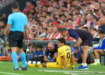برشلونة يكشف تفاصيل إصابة سواريز ومدة غيابه