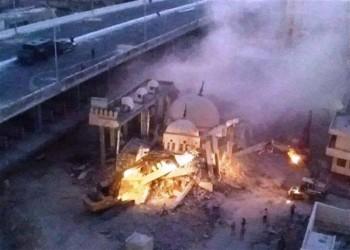 تنفيذا لتوجيهات السيسي.. هدم مسجد أبو الإخلاص بالأسكندرية