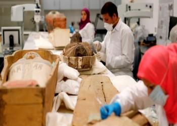 مصر تبدأ ترميم التابوت المذهب لتوت عنخ آمون