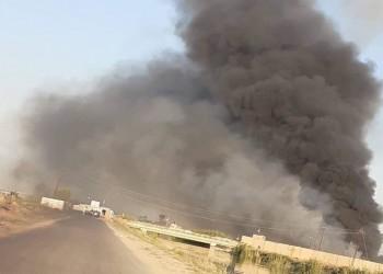 العراق.. انفجار يهز مستودع للحشد الشعبي قرب قاعدة بلد الجوية