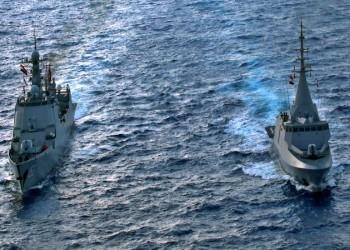 تدريب بحري عابر بين مصر والصين في البحر المتوسط