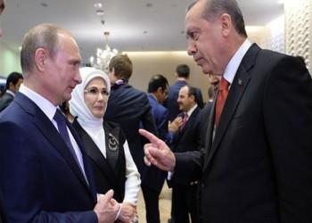 إدلب تتصدر مكالمة هاتفية بين بوتين وأردوغان