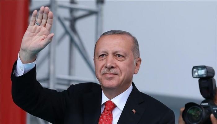 أردوغان: موجودون شرق المتوسط عبر سفننا وقواتنا تحميها