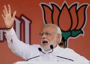 مودي يصل إلى البحرين.. أول رئيس وزراء هندي يزور المنامة