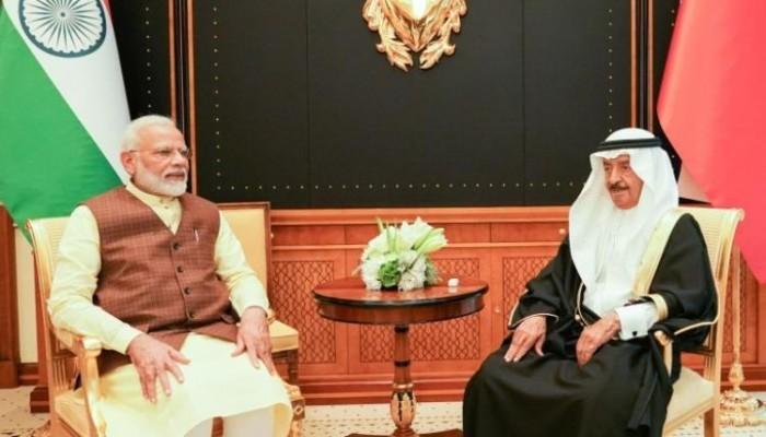 بعد الإمارات.. البحرين تتفق مع الهند على شراكة استراتيجية