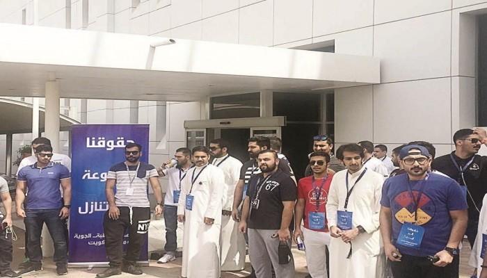 نقابة الطيران المدني بالكويت تتحرك نحو الإضراب