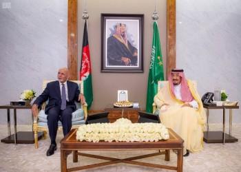 العاهل السعودي يستقبل الرئيس الأفغاني في قصر السلام بجدة