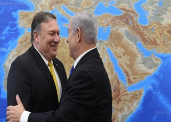بومبيو يدعم إسرائيل بعد هجومها على سوريا
