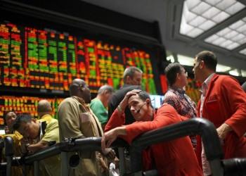 الأسواق داخل فوهة بركان