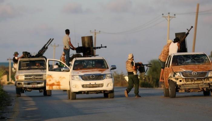 قائد عسكري تابع لحفتر يعترف بدور الإمارات في قصف غريان