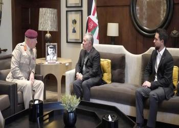 ملك الأردن يبحث مع مسؤول بريطاني سبل تعزيز  التعاون الدفاعي