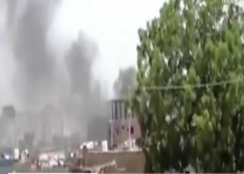 بالفيديو.. لحظة تفجير استهدف قوات الانتقالي الجنوبي بعدن
