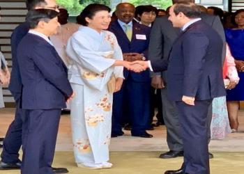 """إمبراطور اليابان يستقبل السيسي على هامش """"تيكاد"""""""