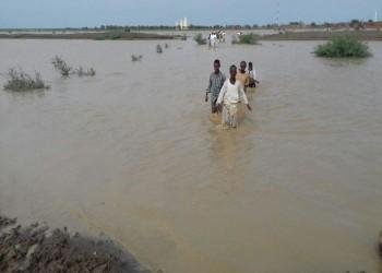40 طن مساعدات كويتية أولية لمتضرري فيضانات السودان