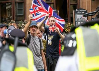 مظاهرات حاشدة تعم بريطانيا احتجاجا على تعليق عمل البرلمان