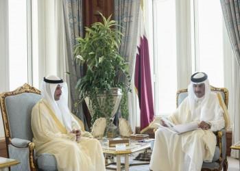 الممثل الشخصي لأمير قطر يصل إلى الكويت الإثنين