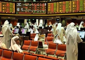 البورصات الخليجية تتخوف من أزمة اقتصادية عالمية