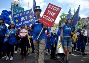 العموم البريطاني يصوت لصالح قانون يمنع بريكست دون اتفاق