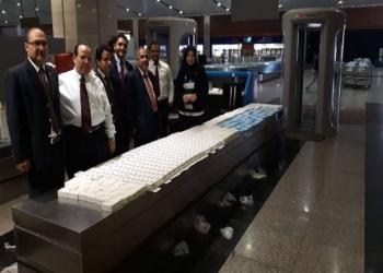 توقيف سعودي بمطار القاهرة.. حاول تهريب 558 علبة دواء