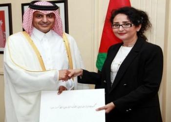 الأردن يتسلم أوراق اعتماد سفير قطر الجديد