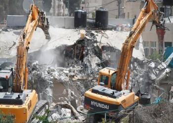 الاحتلال الإسرائيلي وهدم المنازل