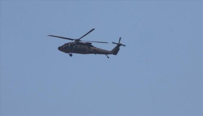 جولة ثالثة للتحليق المروحي الأمريكي التركي على شمال سوريا