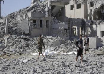 الحوثيون: ارتفاع قتلى قصف سجن ذمار إلى 156